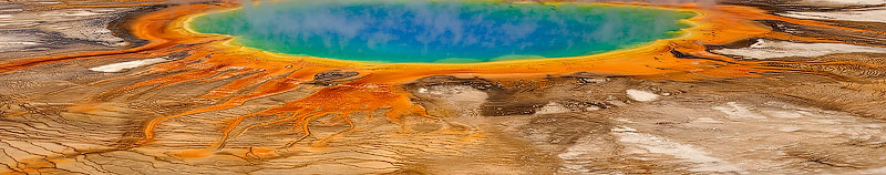 Grand Prismatic Spring. Yellowstone National Park